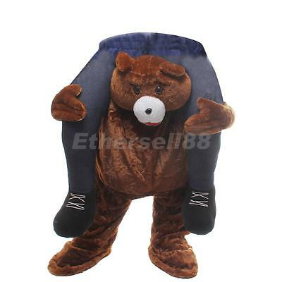 Shoulder Carry Me Back Ride On Fancy Dress Kids Party Costume Mens Outfit