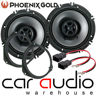 "Vauxhall Astra H MK5 16cm 6"" FUSION 420 Watts Front Door Car Speakers & Brackets"
