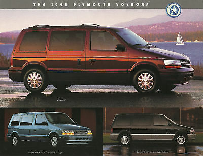1995 Plymouth VOYAGER MINI-VAN MiniVan Brochure/Flyer/Sheet: SE,LE,
