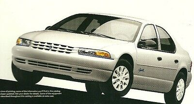 1997 Chrysler Plymouth BREEZE Sales Brochure / Catalog w/Color Chart, '97