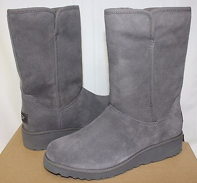 b5785d6541e UGG WOMEN S AMIE Classic Slim Boots Grey Suede 1013428 New With Box ...