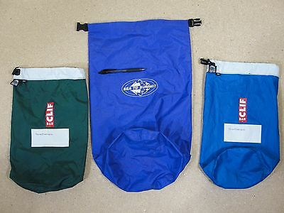 Lot of 3 Camping Stuff Sacks Granite Gear #4 and Sea to Summit Large