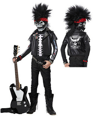 Dead Man Rockin' Boys Rock Star Halloween Costume