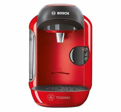 Bosch Tassimo Red Vivy  Coffee and Multi Hot Drinks Machine Maker New