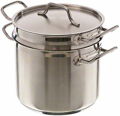 Update International SDB-12 12 Qt Induction Ready Stainless Steel Double Boiler