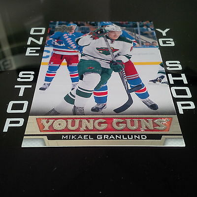 2013 14 Ud Young Guns 474 Mikael Granlund Rc Mint/nrmnt +Free Combined S&h