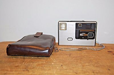 Vintage Kodak disc 4000 Camera With Case  Made USA (F37)