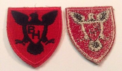 Us Army 86Th Infantry Division Patch Cut Edge Ww2 Era Snowy Back