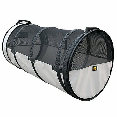 Pet Car Crate Tube Kennel: Universal Fit for Most Vehicles 24 Diameter x 47 Leng
