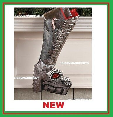 Kiss Christmas shoe boot stocking Dragon Gene Simmons autograph signature NEW