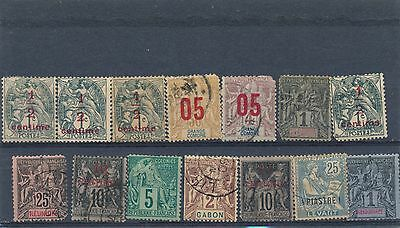stamp france colonies  collection HPS