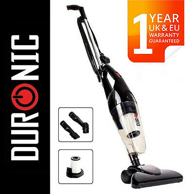 Duronic VC7/BK Bagless Upright Stick Vacuum Cleaner With Hepa [Energy class:B]