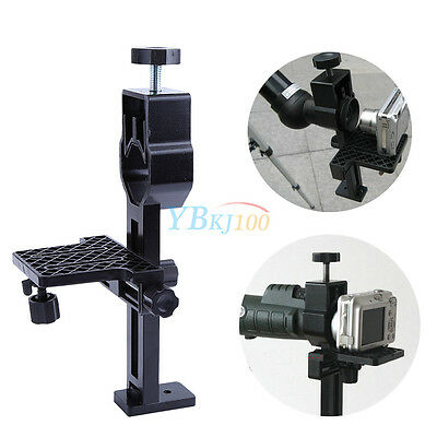 """1xUniversal Telescope Camera Stand Spotting Scope Cell Phone Mount Adapter 1.25"""""""