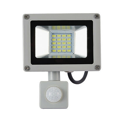 10W 20W IP65 LED Flood Light SMD Spot Lamp with PIR Sensor Outdoor Security 220V