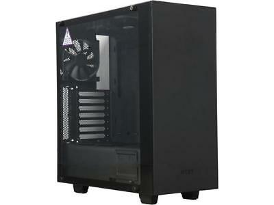 NZXT S340 Elite Matte Black Steel/Tempered Glass ATX Mid Tower Case