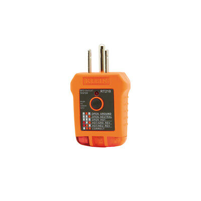Klein Tools RT210 GFCI Receptacle Tester