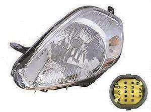 Fiat Grande Punto Headlight Unit Passenger's Side Headlamp Unit 2006-2008
