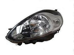 Fiat Punto Headlight Unit Passenger's Side Headlamp Unit 2012-2014