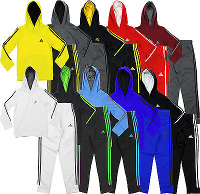 Adidas Youth Game Time Hoodie And Pants Set, Color Options