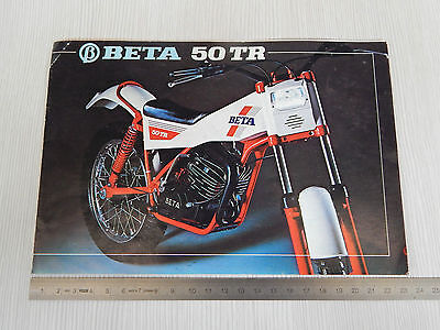 Depliant Originale Beta Tr 50 50Tr Trial  Brochure