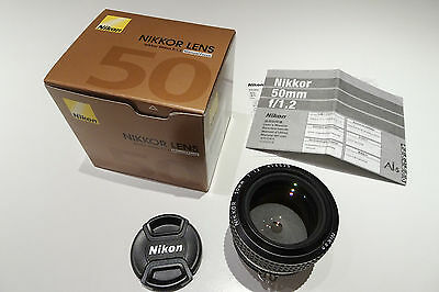 Nikon Nikkor Lens 50mm f/1.2 AI-s  Mint - Never Used - in Box
