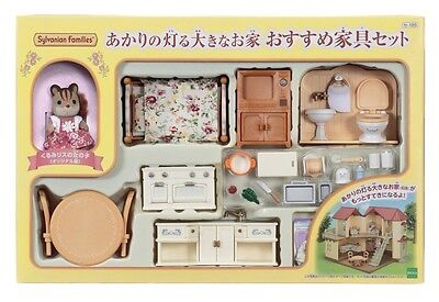 Epoch se-189 Sylvanian Families Recommended Furniture Set for Large House