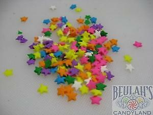 Star Shapes Pastel Colors Bakery Topping Sprinkles 8 ounces