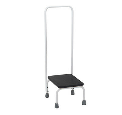 Drive Medical Non-Slip Household /Bath Step Stool with Handrail