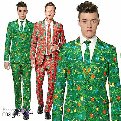 Mens Suitmeister Festive Novelty Christmas Fancy Dress Costume Outfit Party Suit