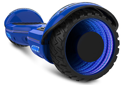 Safe 2 Wheel Electric Motorized Scooter Skateboard Bluetooth Hummer board  UL 9""