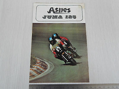 Depliant Originale Aspes Yuma 125 Brochure