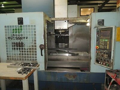 Matsuura MC-1000VG CNC 3 Axis Vertical Machining Center