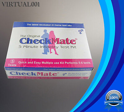 """5 Minute Checkmate Semen and Sperm Detection """"Catch a Cheating Partner""""Test Kit"""