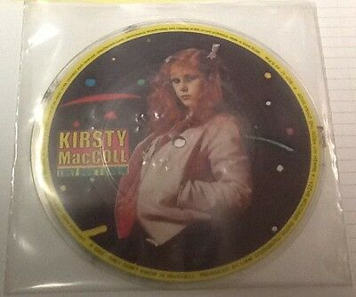 "KIRSTY MacCOLL They Don't Know / Motor On STIFF 7"" RARE UK 1979 PICTURE DISC"