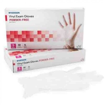 Vinyl Exam Gloves, LARGE, Powder Free, Latex Free, Case of 1000 *FREE SHIPPING!*