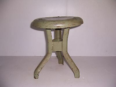 Vintage Metal Cow Milking 3 Leg Stool Dairy Farm