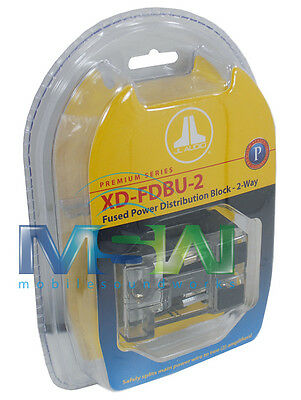 JL AUDIO® XD-FDBU-2 MAXI FUSED POWER DISTRIBUTION BLOCK 1/0 AWG to 4 AWG OUTPUTS