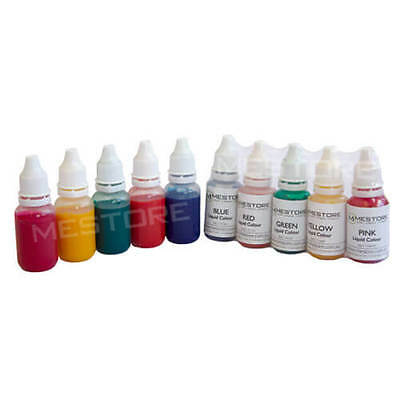 Soap Colour Dye Liquid Pigment Melt and Pour Soap Colour Kit CP Soap Colour Set