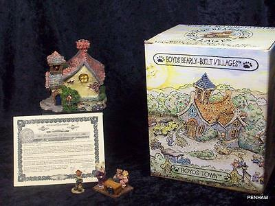 Boyd's Bearly Built Villages & Accessory Stuff Lot 3, Style 19004, Village #4