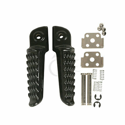 Rear Footrests Foot Pegs For Kawasaki ZZR1400 ZX14 ZX-14 2006-2013 GTR1400 08-13