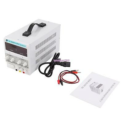 30V 10A Precision Variable DC Power Supply Dual Digital Adjustable Low Noise