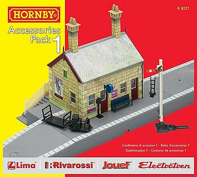 Hornby R8227 TrakMat Building Extension Pack 1 Hobby Railway Model Set