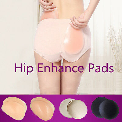 1 Pair Silicone / Sponge Hip Enhance Pads Women Sexy Butt Pads Body Beauty Tools