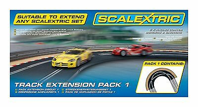 Scalextric Track Extension Pack 1 (Racing Curves) Slot Car Tracks C8510