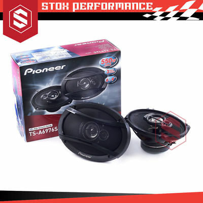 "Pioneer TS-A6976S 6""x 9"" 3-Way 550Watts Coaxial Car Audio Speakers"