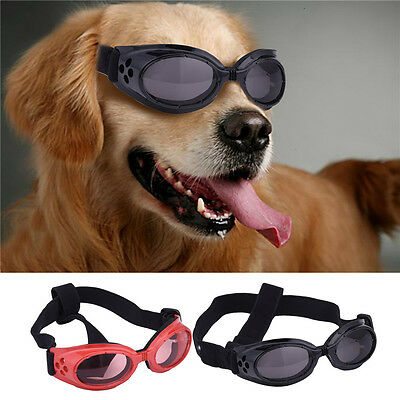 Fashion Waterproof Pet Dog Doggles Goggles UV Sunglasses Eye Wear Protection
