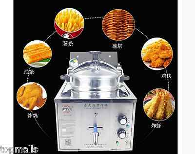 16L Stainless Steel Cooking Countertop Fried Chicken Duck Fish Meat Vegetable
