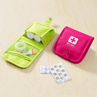 Portable Travel Emergency Kits Storage Box Sorting Bags First Aid Box Case