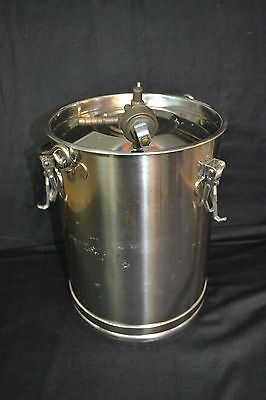 Don Whitley 10 Litre Stainless Steel Anaerobic Jar