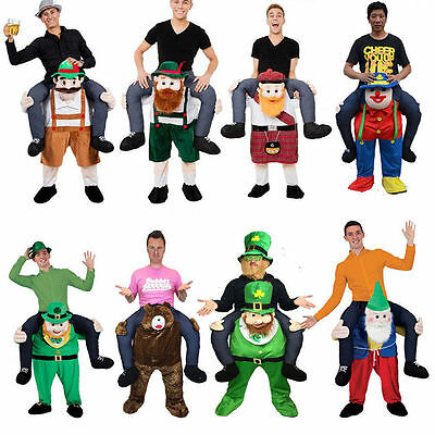 Shoulder Carry Me Piggy Back Ride On Fancy Adult Dress Party Costume Mens Outfit